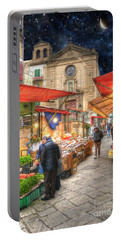 Palermo Market Place Portable Battery Charger