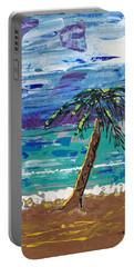 Palm Beach Portable Battery Charger by J R Seymour