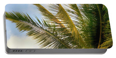 Palm Branches Portable Battery Charger