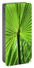 Palm Frond Portable Battery Charger by Bonnie Muir