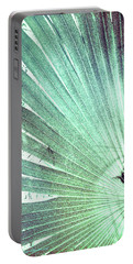 Palm Frond-lh Portable Battery Charger