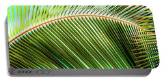 Palm Frond Sway Portable Battery Charger