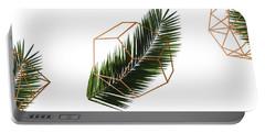 Palm Geometry Portable Battery Charger by Uma Gokhale