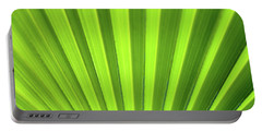 Palm Leaf Abstract Portable Battery Charger
