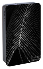 Portable Battery Charger featuring the photograph Palm Leaf by Deborah Benoit