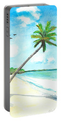 Palm Over Diani Beach Portable Battery Charger