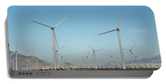 Palm Springs Windfarm Portable Battery Charger