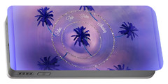 Portable Battery Charger featuring the digital art Palm Sunday by Sherri Of Palm Springs