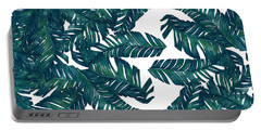 Palm Tree 7 Portable Battery Charger by Mark Ashkenazi