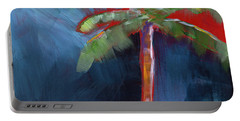 Palm Tree- Art By Linda Woods Portable Battery Charger