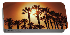 Palm Tree Dreams Portable Battery Charger