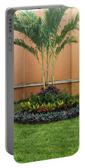 Palm Tree Garden Portable Battery Charger by James Gay