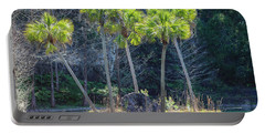 Palm Tree Island Portable Battery Charger