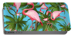Palm Tree Portable Battery Charger by Mark Ashkenazi