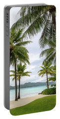 Palm Trees 1 Portable Battery Charger
