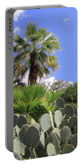 Palm Trees And Cactus Portable Battery Charger