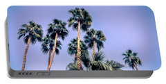 Palm Trees Palm Springs Summer Portable Battery Charger