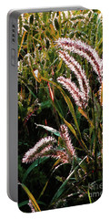 Palmer Amaranth Pig Weed In Sunlight Portable Battery Charger