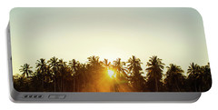 Palms And Rays Portable Battery Charger