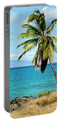 Portable Battery Charger featuring the photograph Palms On Hawaiian Beach 12 by Micah May