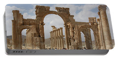 Palmyra Before...triumphal Arch Portable Battery Charger