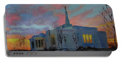 Palmyra Temple At Sunset Portable Battery Charger