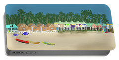 Palolem Beach Goa Portable Battery Charger