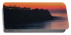 Palos Verdes Coast After Sunset Portable Battery Charger