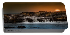 Palos Verdes Coast Portable Battery Charger by Ed Clark