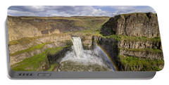 Portable Battery Charger featuring the photograph Palouse Falls by Albert Seger