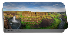 Palouse Falls Canyon Portable Battery Charger