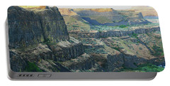Palouse River Canyon Buttes Portable Battery Charger
