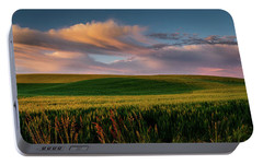 Portable Battery Charger featuring the photograph Palouse Tree Of Life by Dan Mihai