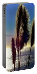 Pampas Grass And The Pacific Portable Battery Charger