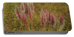 Portable Battery Charger featuring the photograph Pampas Grass by Athala Carole Bruckner