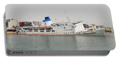 Panagia Tinou Ferry Sinking In Athens Portable Battery Charger