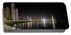 Panama City Night Portable Battery Charger