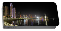 Panama City Night Portable Battery Charger