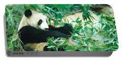 Panda 1 Portable Battery Charger by Lanjee Chee