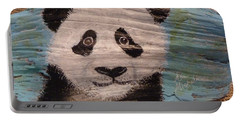 Panda Portable Battery Charger by Ann Michelle Swadener