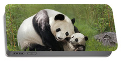 Panda Bears Portable Battery Charger