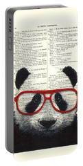 Panda Nursery Art Portable Battery Charger