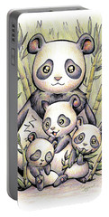 Endangered Animal Giant Panda Portable Battery Charger