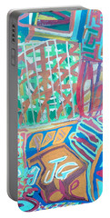 Panel Of Hand Painted Mondeo Portable Battery Charger