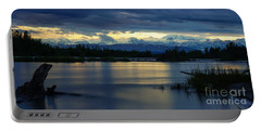 Pano Alaska Midnight Sunset Portable Battery Charger