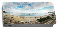 Panorama Of Copacabana, Rio De Janeiro, Brazil  Portable Battery Charger