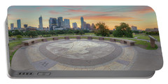 Panorama Of Downtown Austin, Texas, 3 Portable Battery Charger