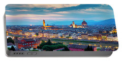 Portable Battery Charger featuring the photograph Panorama Of Florence by Fabrizio Troiani