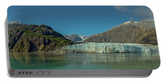 Portable Battery Charger featuring the photograph Panorama Of Glacier Bay, Alaska by Brenda Jacobs