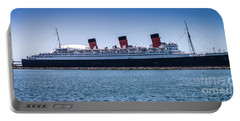 Panorama Of The Queen Mary Portable Battery Charger